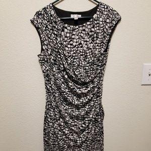 Dress Barn wrap style dress